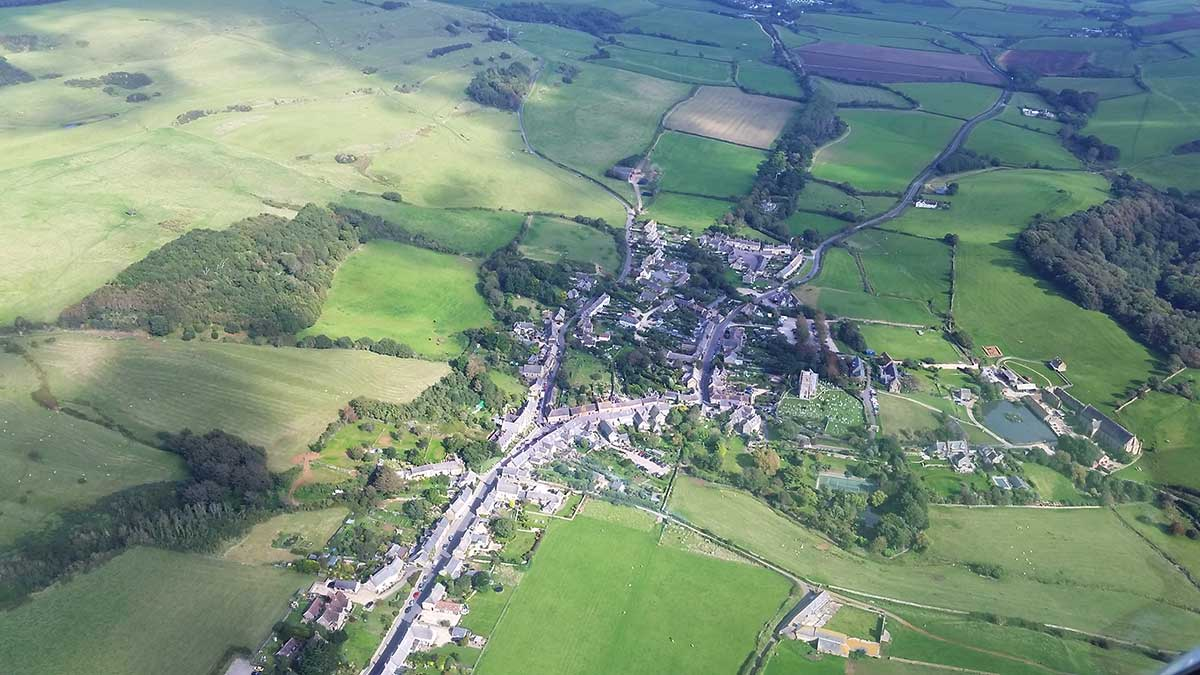 Abbotsbury from the air