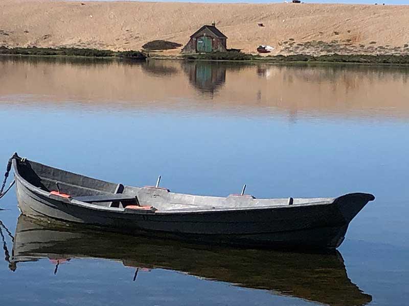 Boat On The Fleet