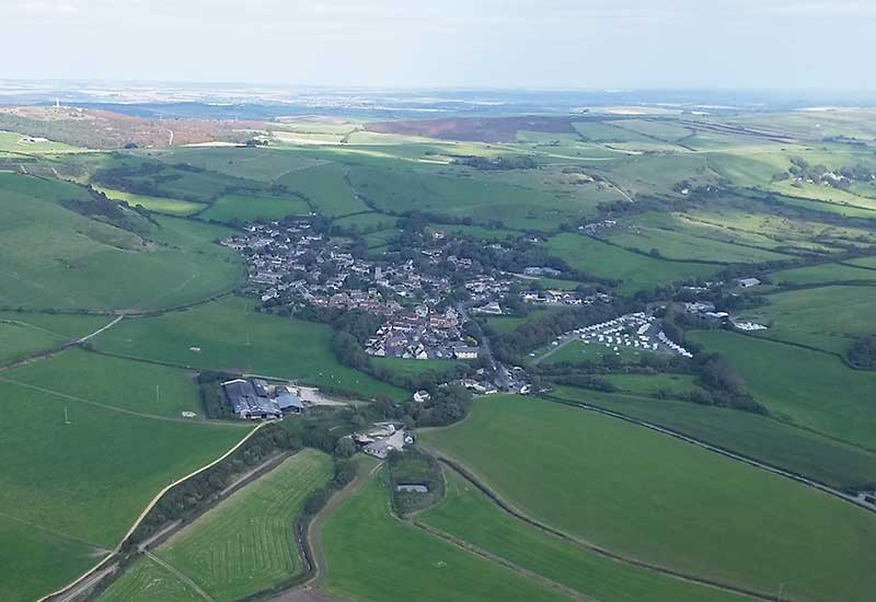 Portesham From The Air